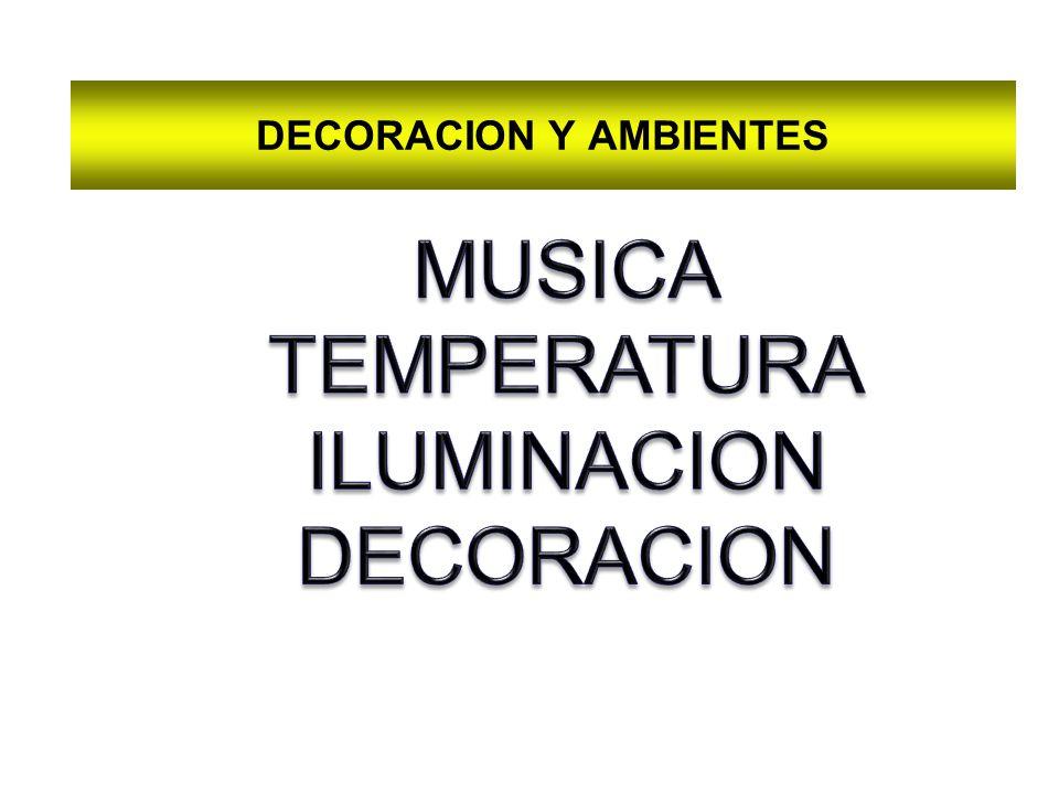 DECORACION Y AMBIENTES