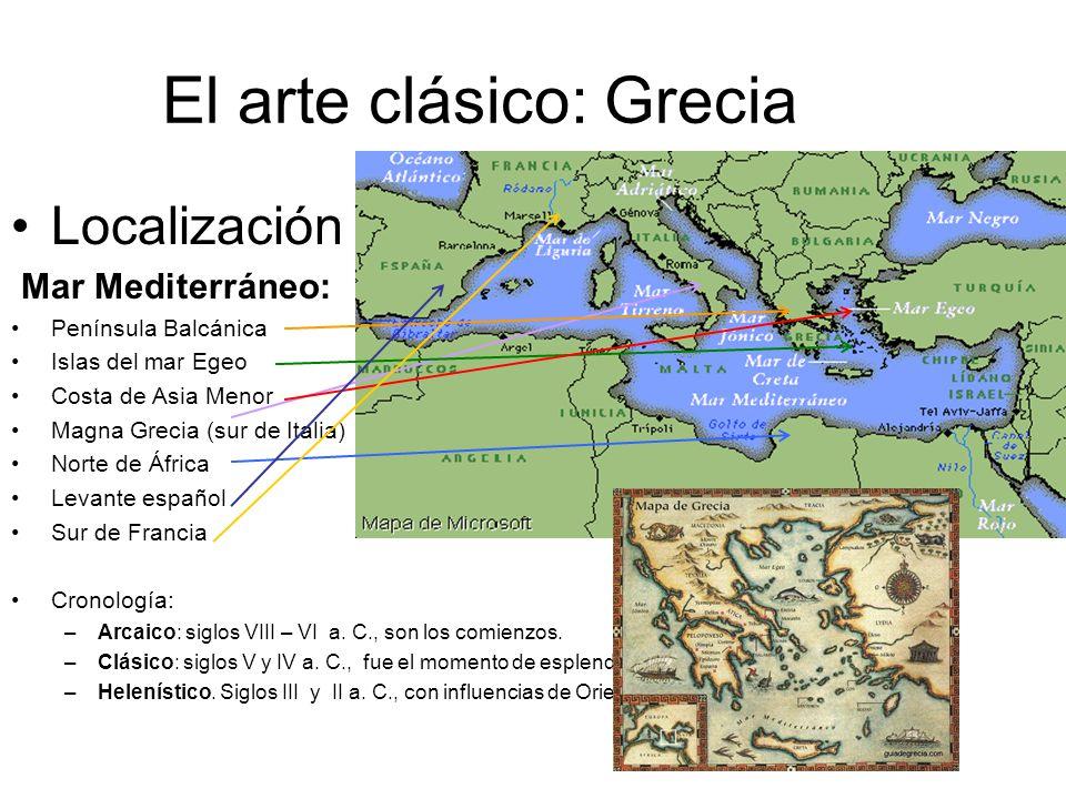 El arte clásico: Grecia