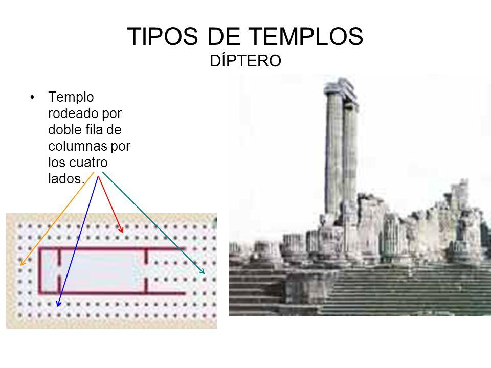 TIPOS DE TEMPLOS DÍPTERO
