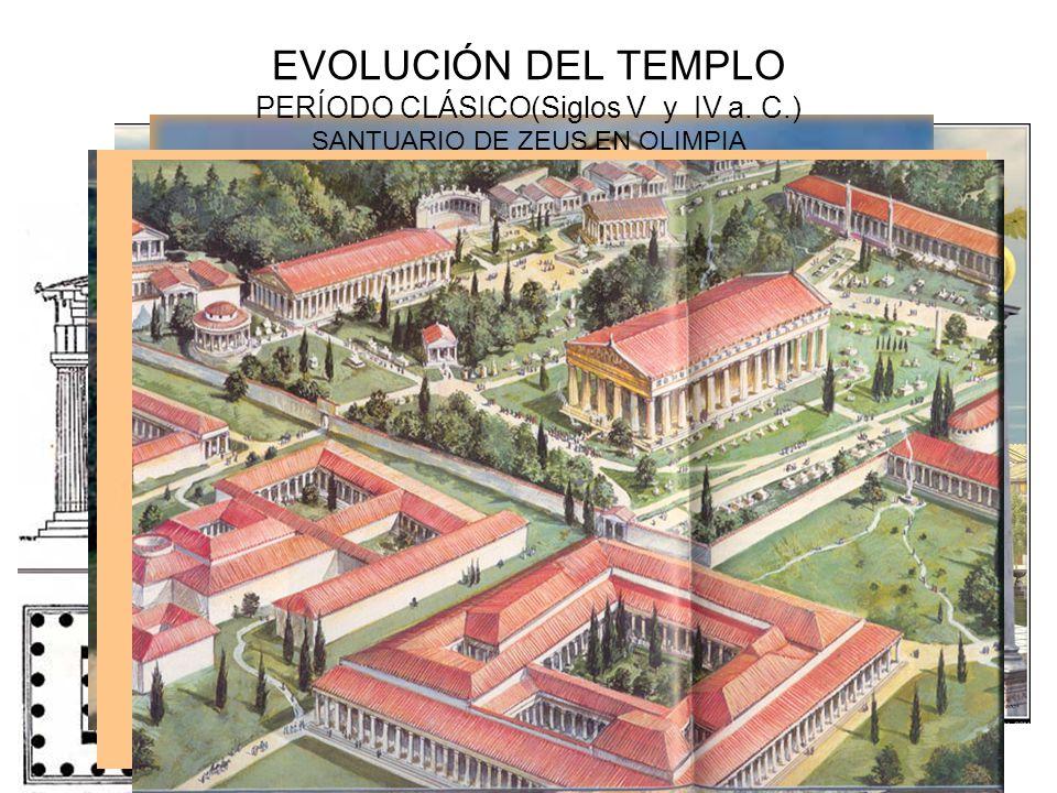 EVOLUCIÓN DEL TEMPLO PERÍODO CLÁSICO(Siglos V y IV a. C