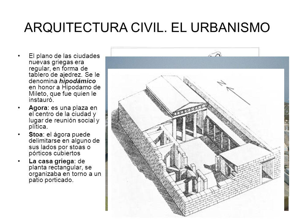 ARQUITECTURA CIVIL. EL URBANISMO