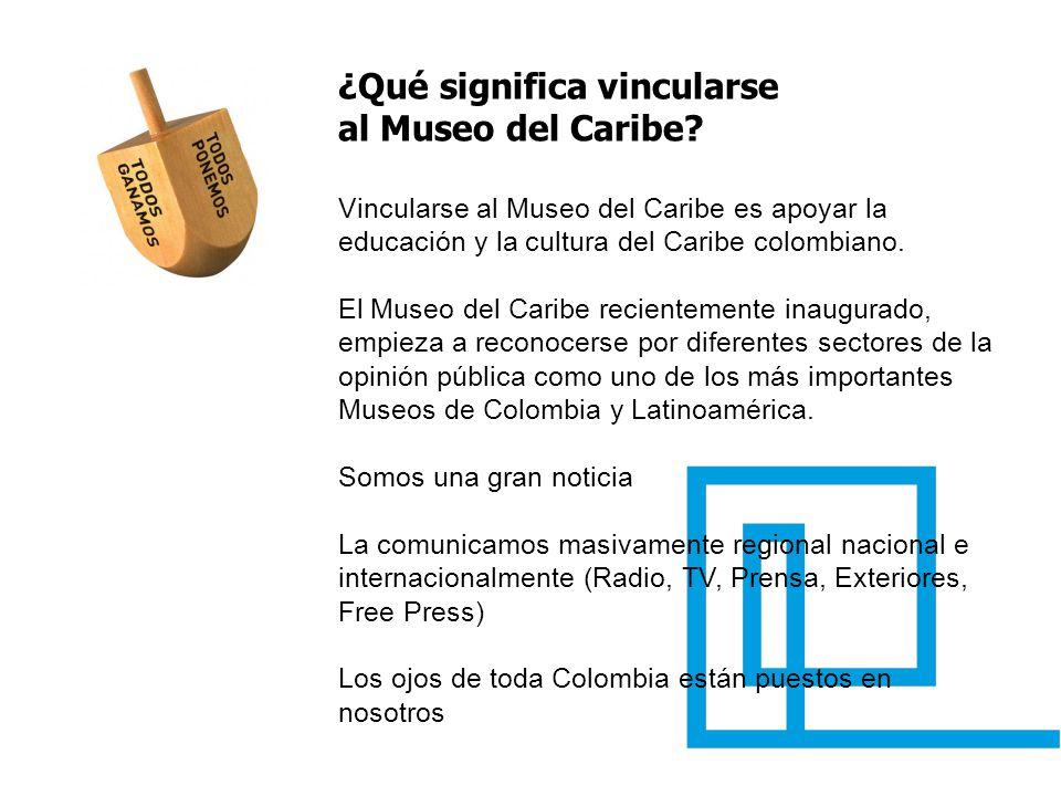 ¿Qué significa vincularse al Museo del Caribe