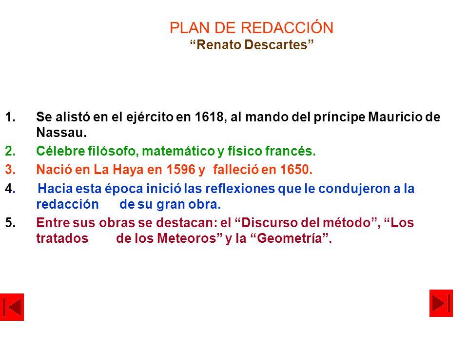 PLAN DE REDACCIÓN Renato Descartes