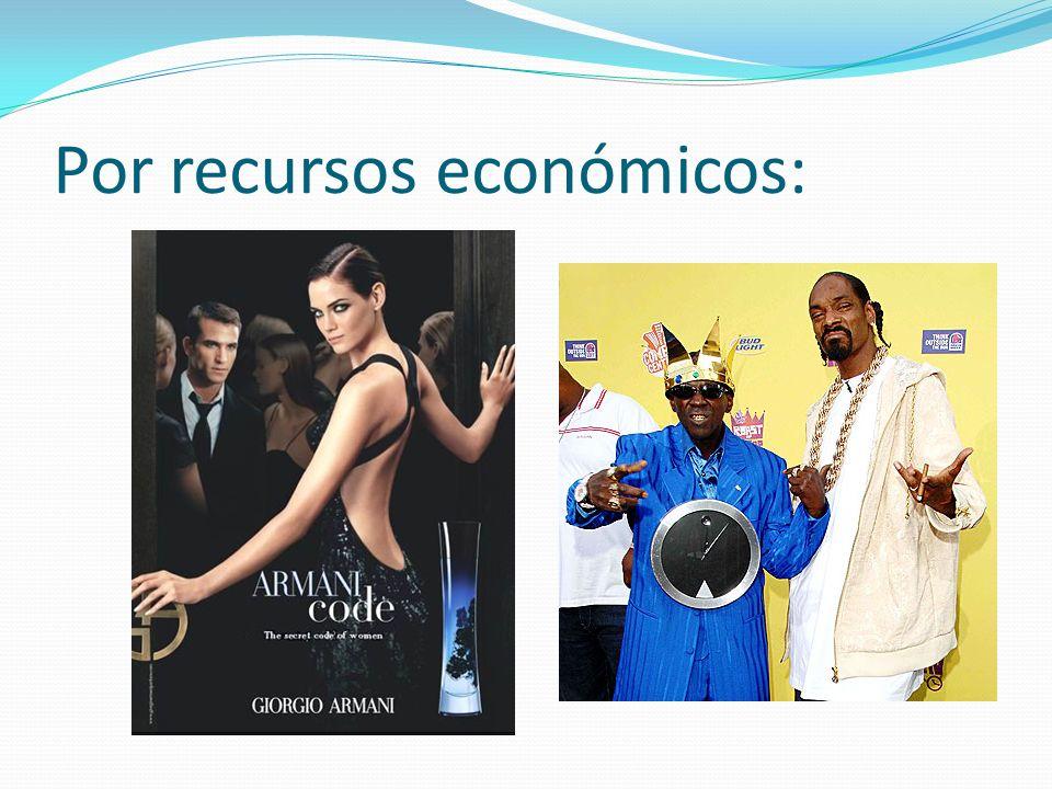 Por recursos económicos: