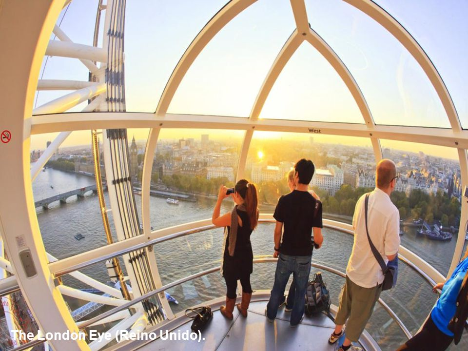 The London Eye (Reino Unido).