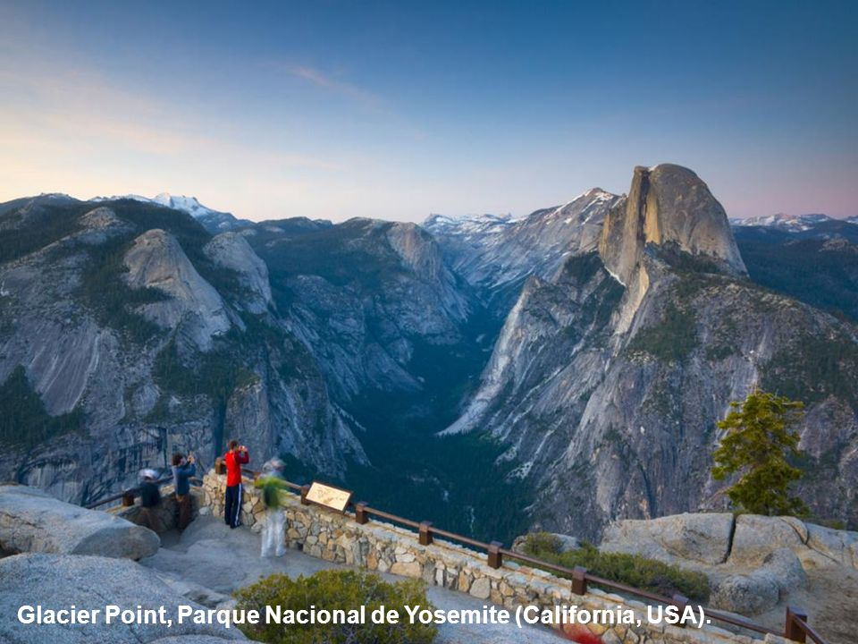 Glacier Point, Parque Nacional de Yosemite (California, USA).