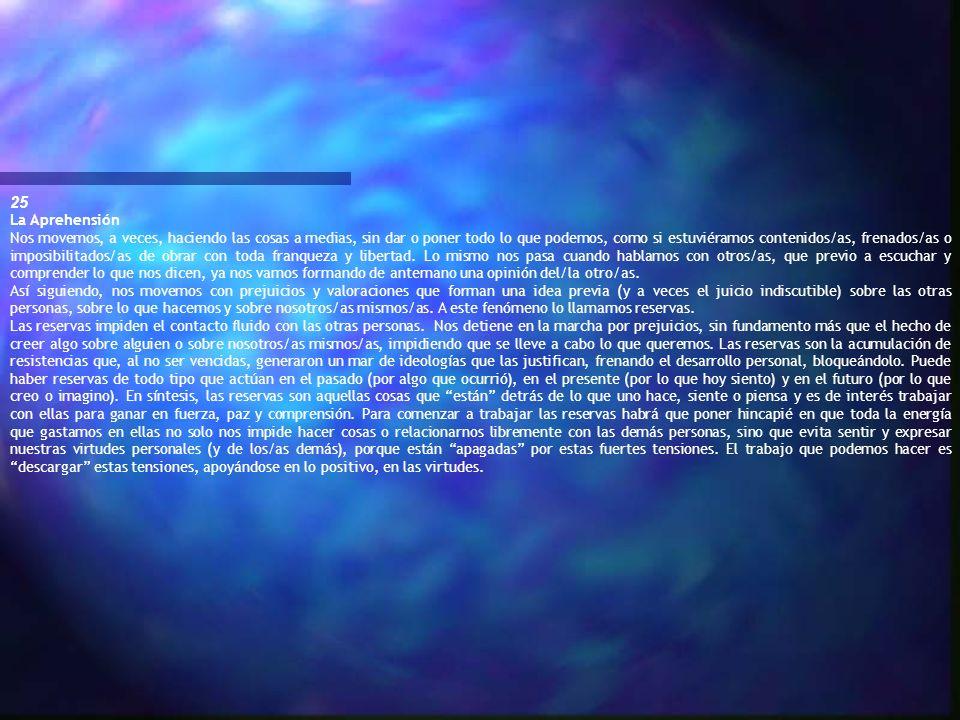 25La Aprehensión.