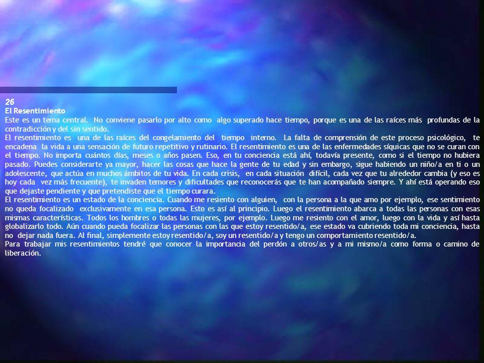 26El Resentimiento.