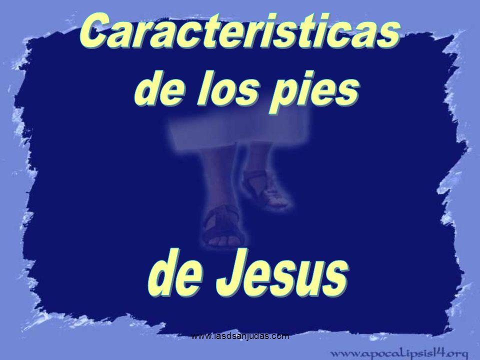Caracteristicas de los pies de Jesus