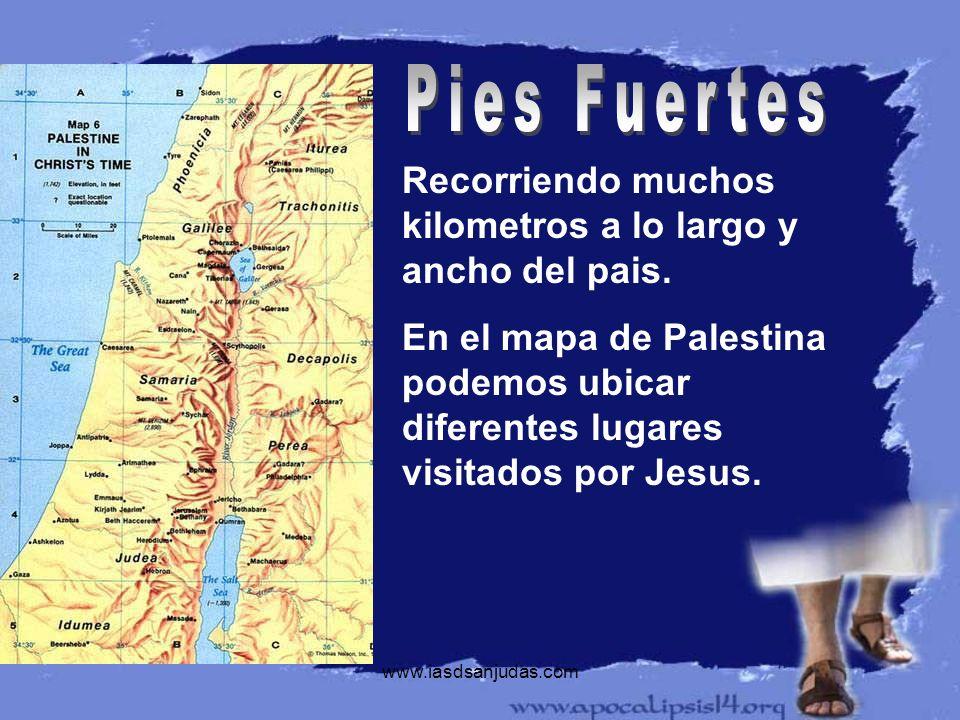 Pies FuertesRecorriendo muchos kilometros a lo largo y ancho del pais.
