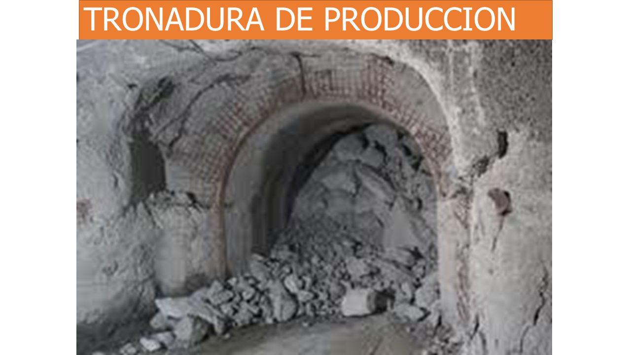 TRONADURA DE PRODUCCION
