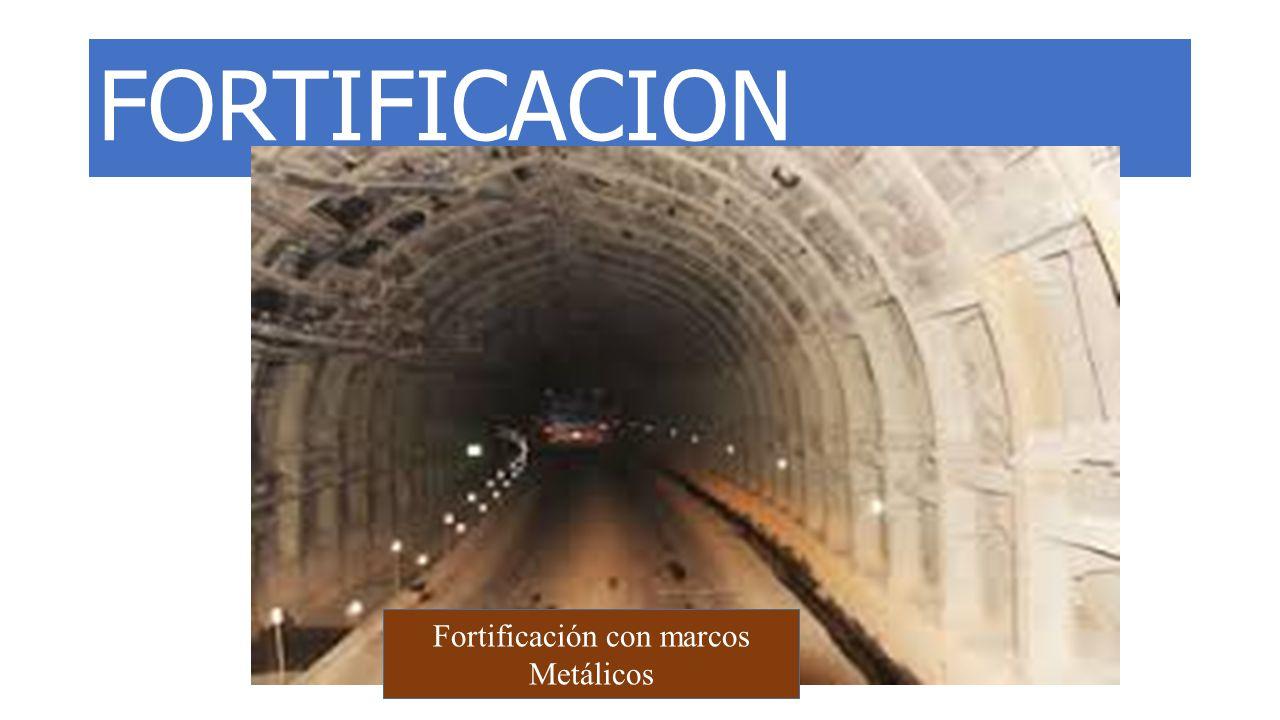 Fortificación con marcos Metálicos