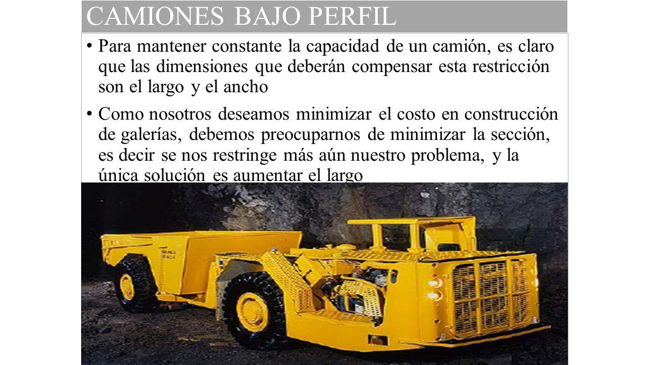 CAMIONES BAJO PERFIL