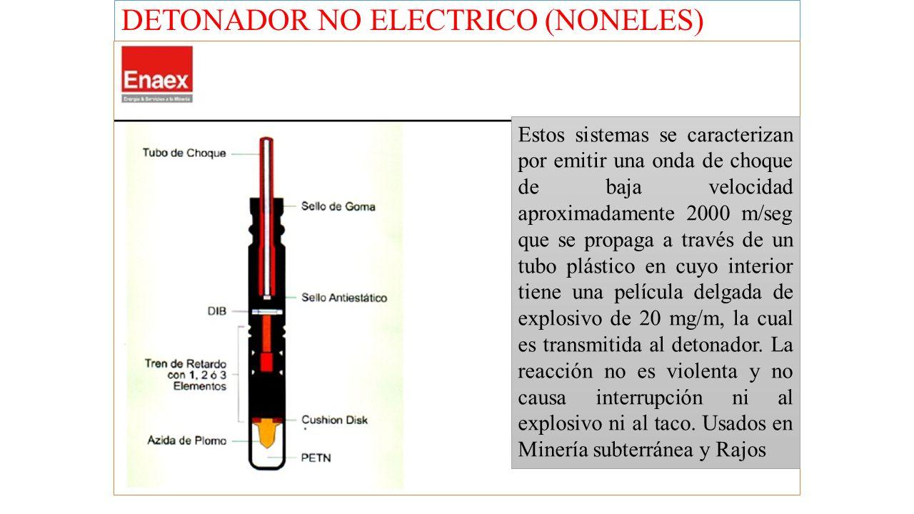 DETONADOR NO ELECTRICO (NONELES)