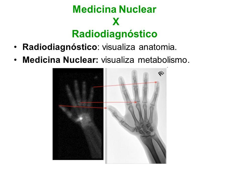 Medicina Nuclear X Radiodiagnóstico
