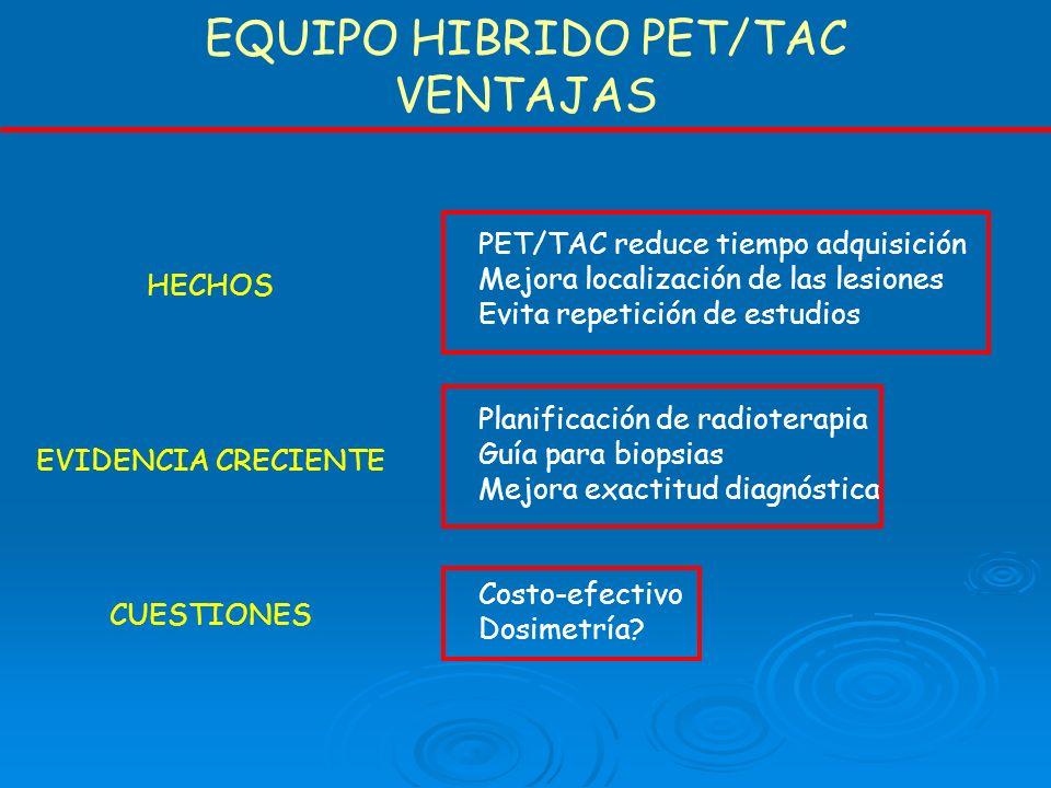 EQUIPO HIBRIDO PET/TAC