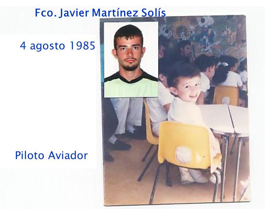 Fco. Javier Martínez Solís