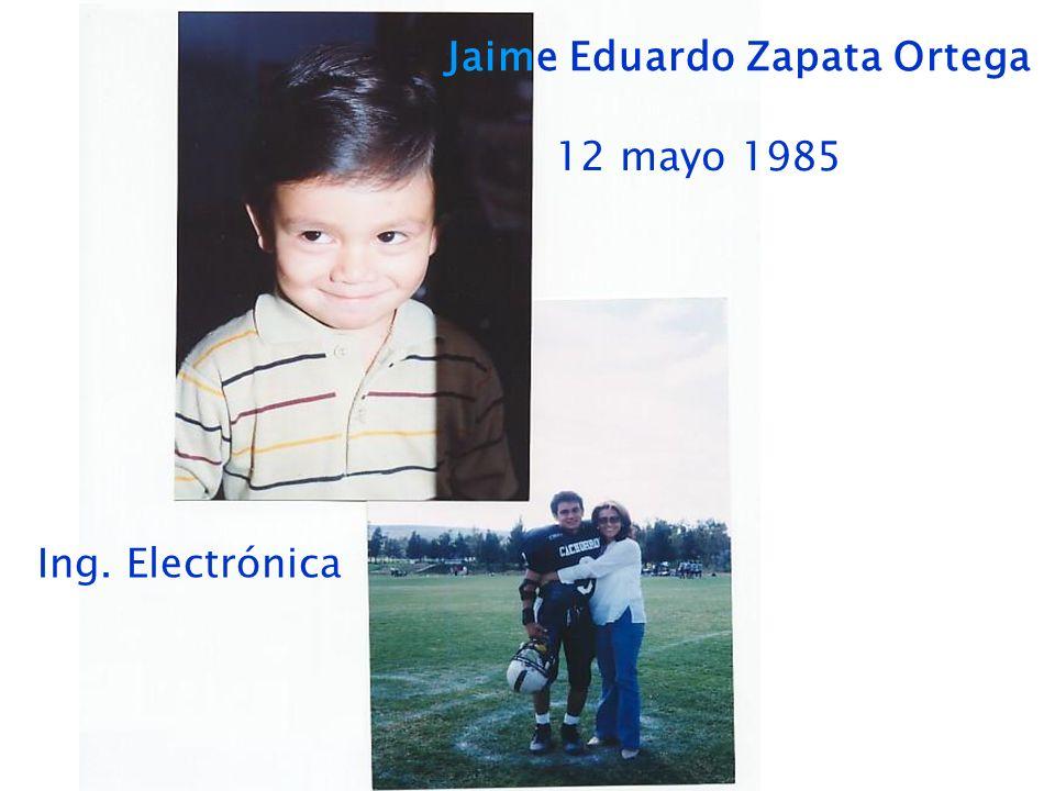 Jaime Eduardo Zapata Ortega