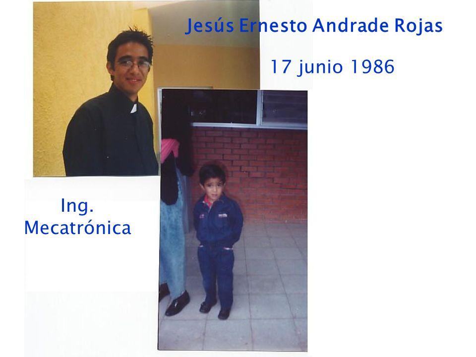Jesús Ernesto Andrade Rojas