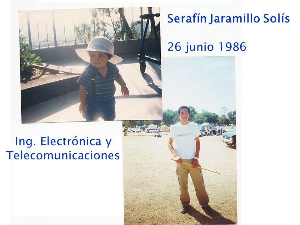 Ing. Electrónica y Telecomunicaciones