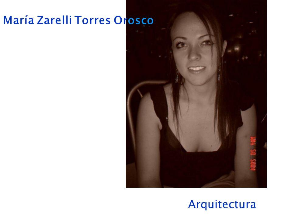 María Zarelli Torres Orosco