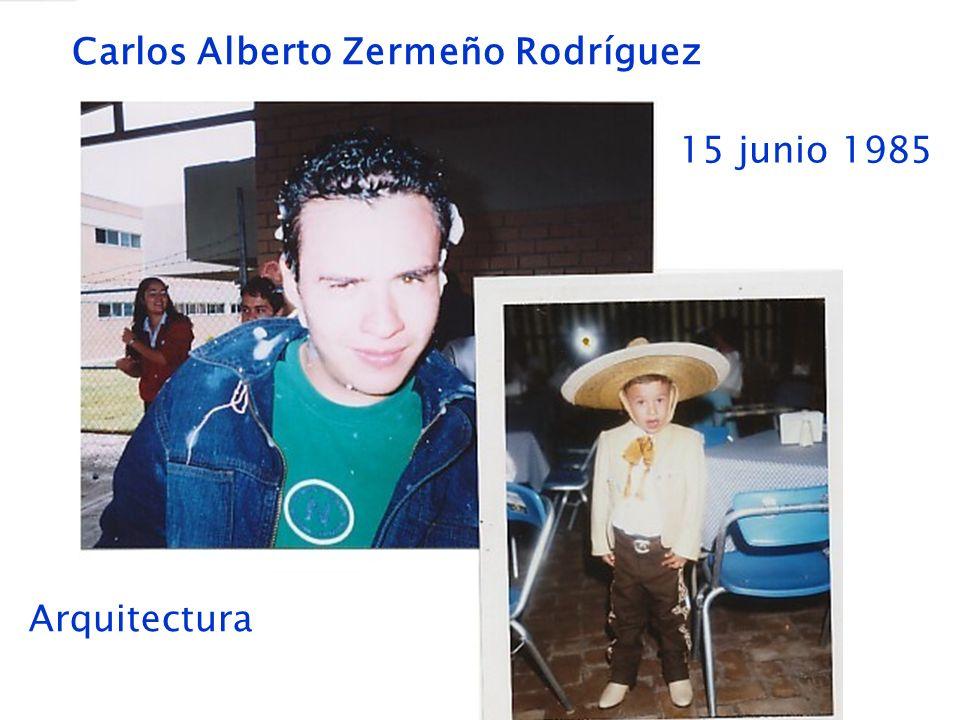 Carlos Alberto Zermeño Rodríguez