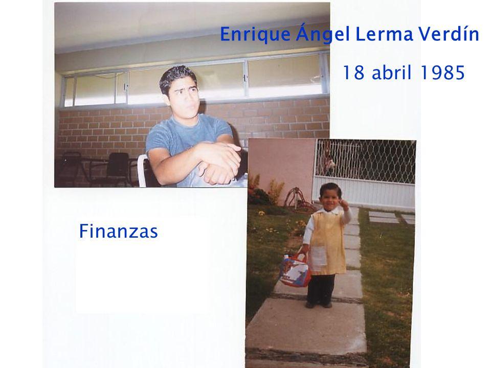 Enrique Ángel Lerma Verdín