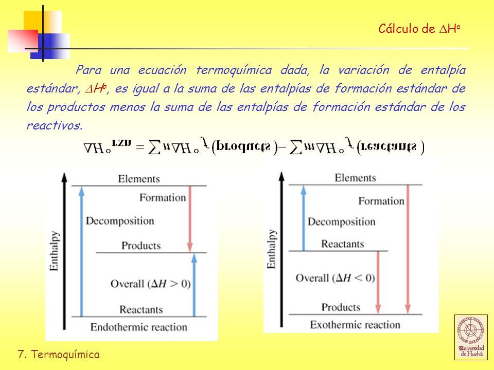 Cálculo de Ho