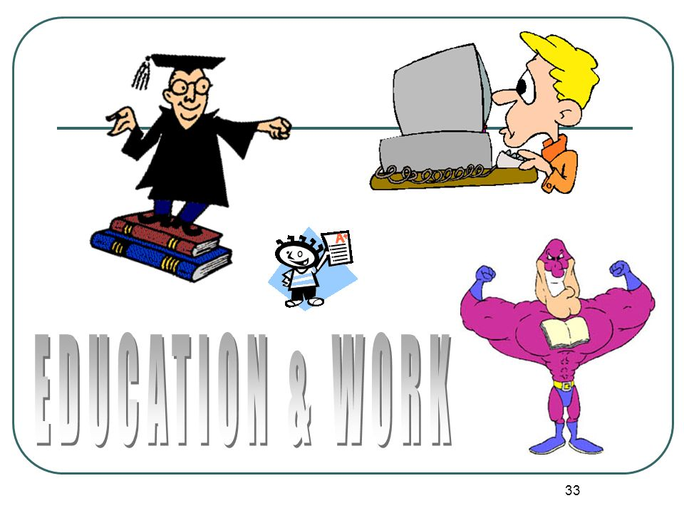 EDUCATION & WORK