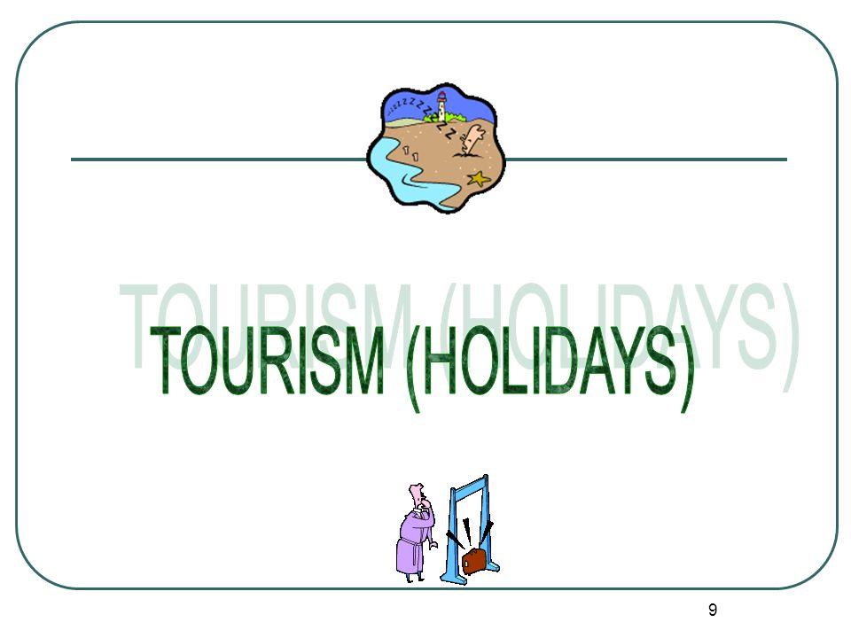 TOURISM (HOLIDAYS)