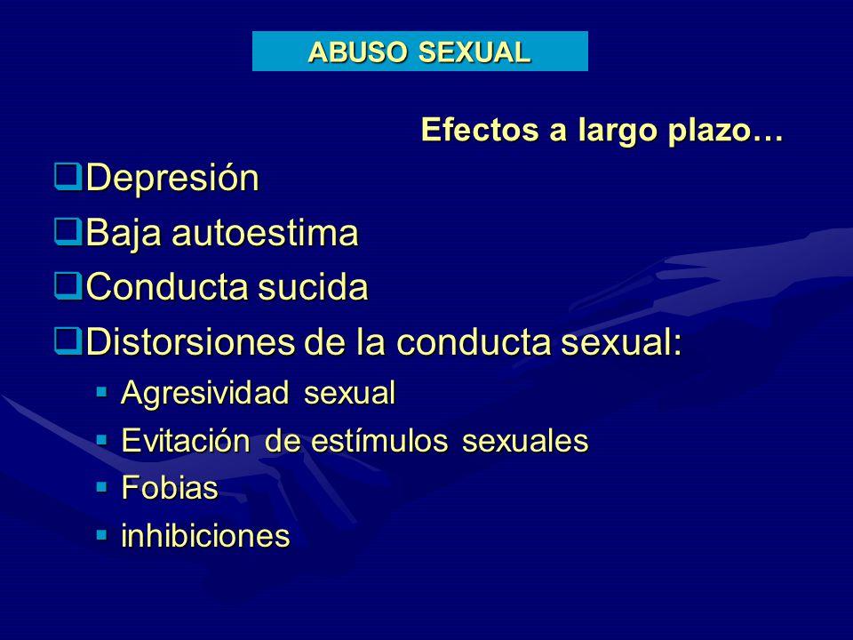 CONSECUENCIAS PSICOLGICAS A LARGO PLAZO DEL ABUSO SEXUAL