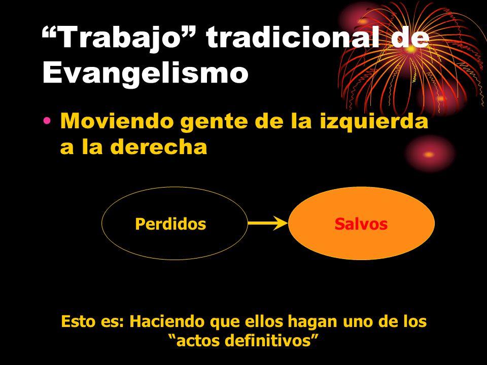 Trabajo tradicional de Evangelismo