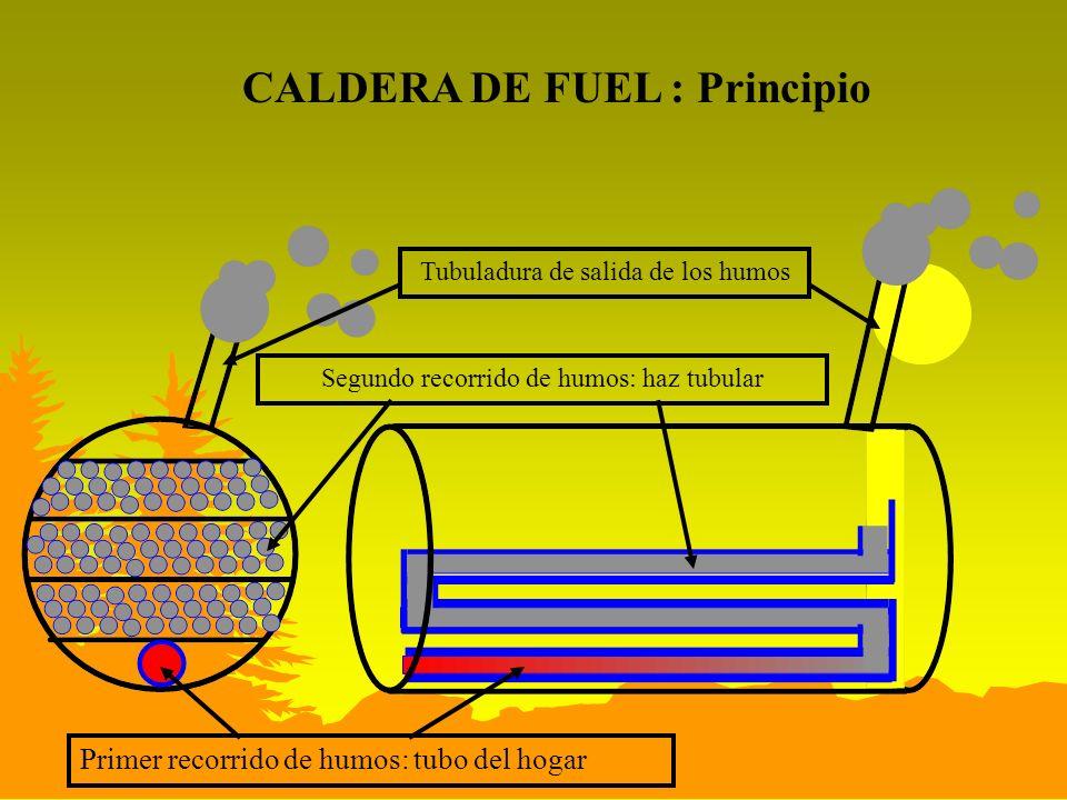 CALDERA DE FUEL : Principio