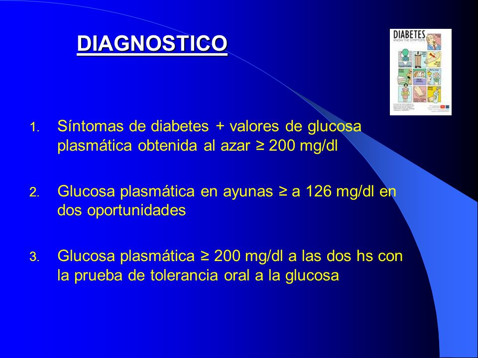 CURSO POSTGRADO DIABETES - ppt descargar