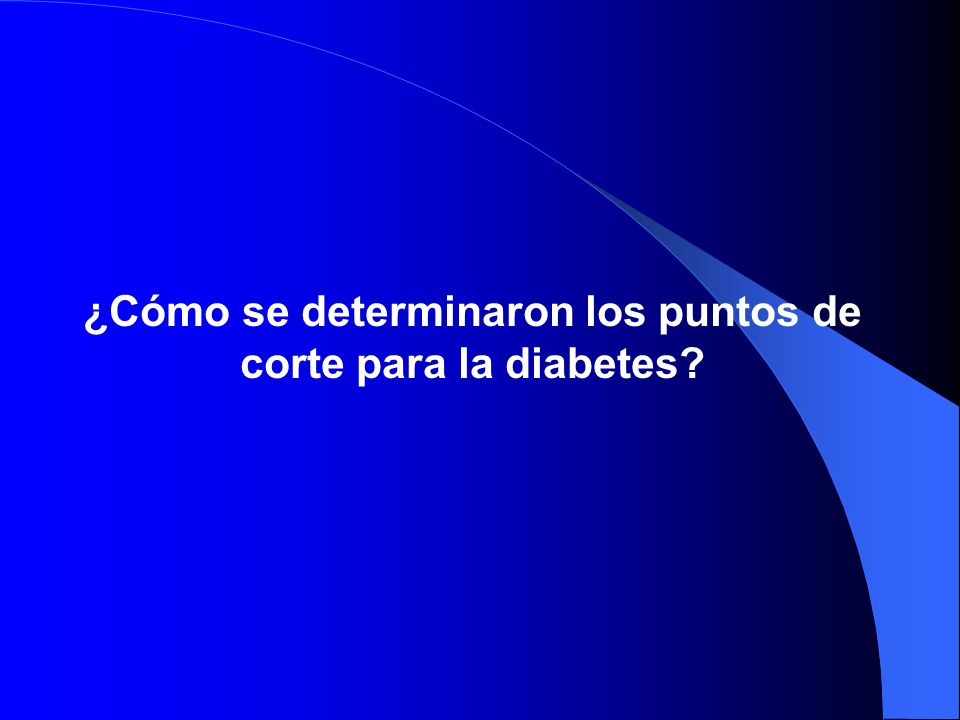 CURSO POSTGRADO DIABETES - ppt descargar
