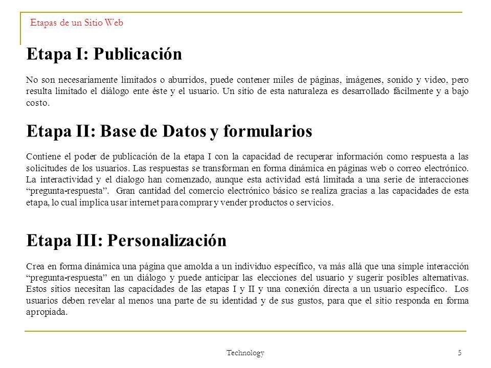 Etapa II: Base de Datos y formularios