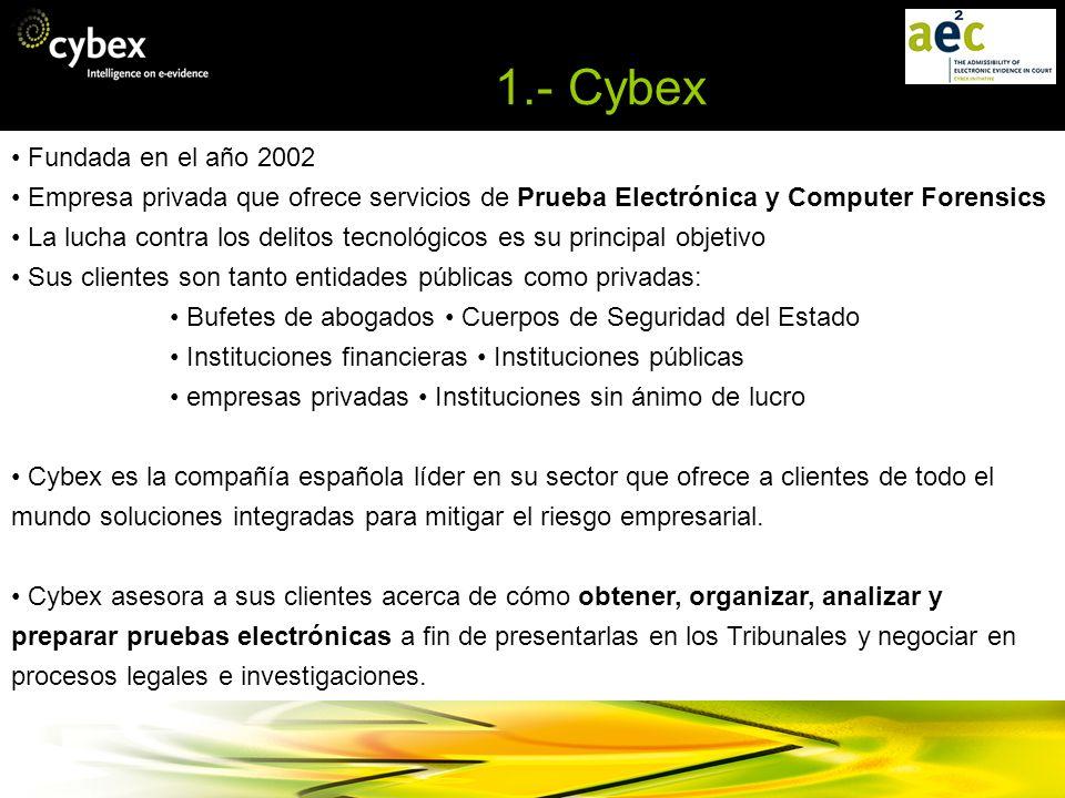 1.- Cybex • Fundada en el año 2002