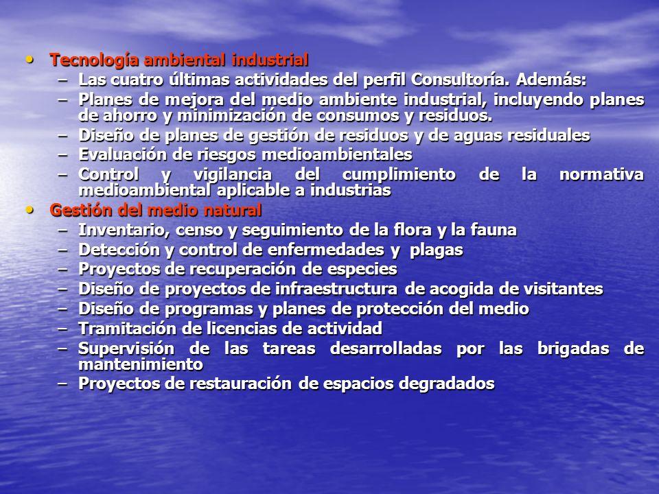 Tecnología ambiental industrial