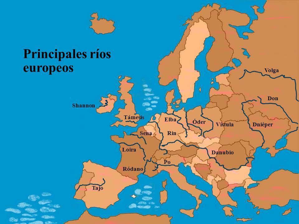 Principales ríos europeos