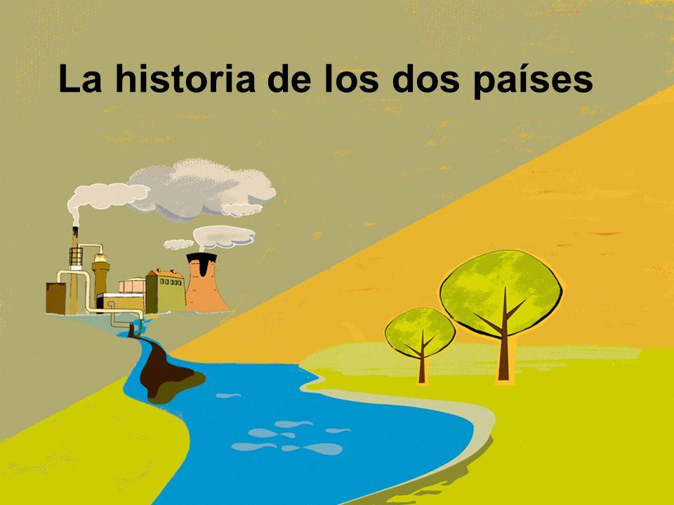 La historia de los dos países