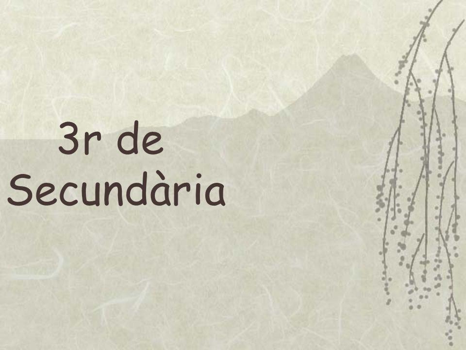 3r de Secundària