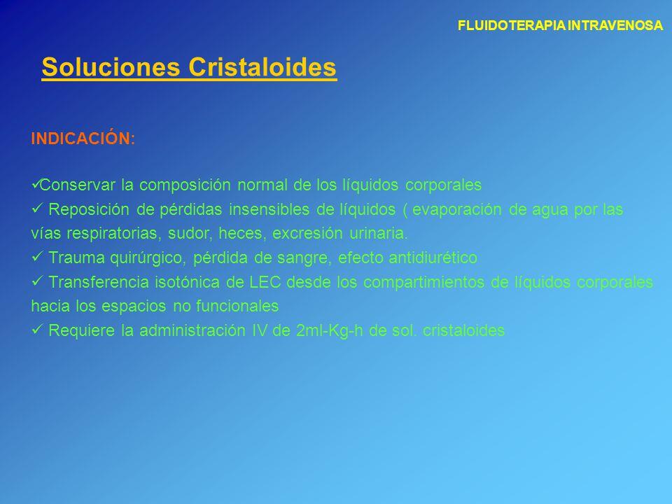 Soluciones Cristaloides