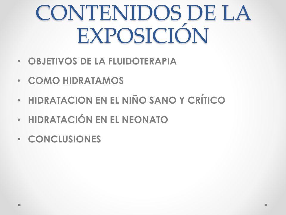 CONTENIDOS DE LA EXPOSICIÓN