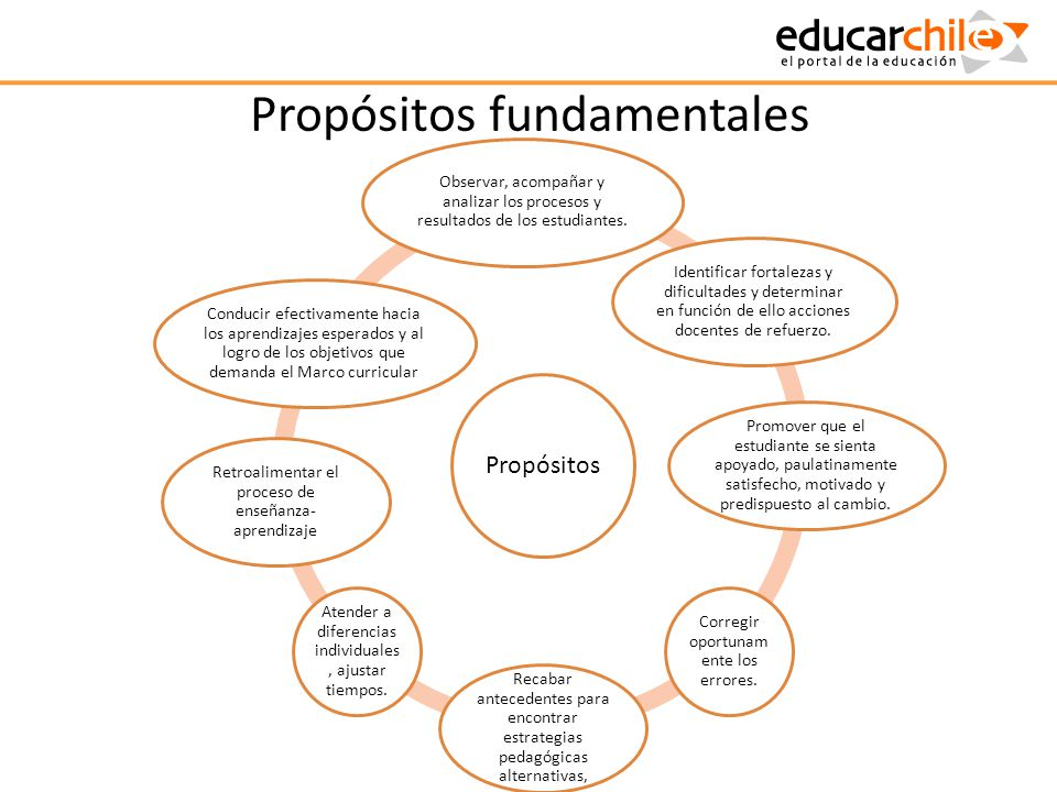 Propósitos fundamentales