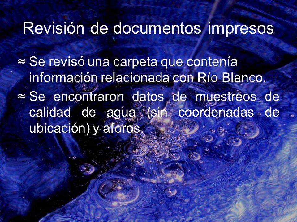 Revisión de documentos impresos