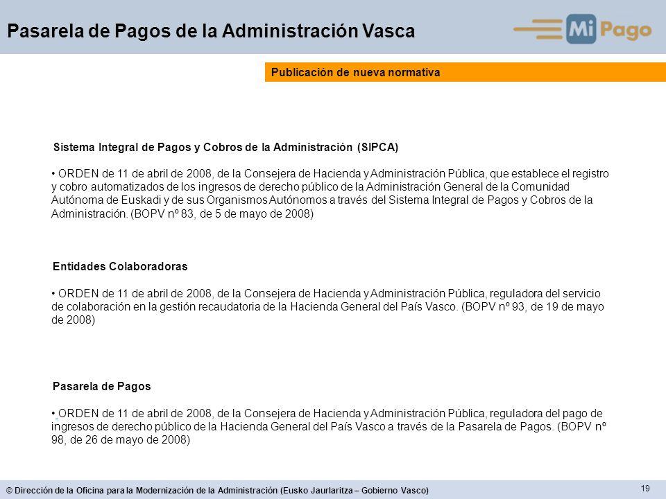 Publicación de nueva normativa