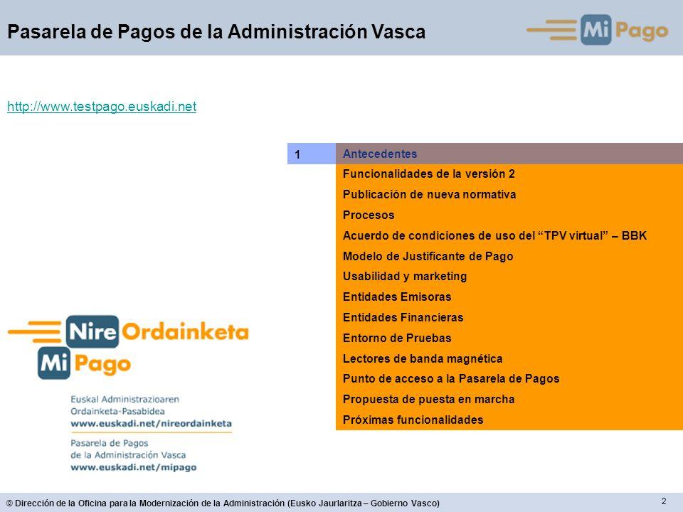 http://www.testpago.euskadi.net 1 Antecedentes