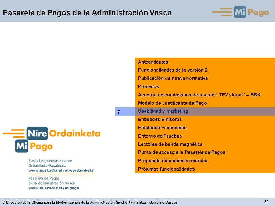 AntecedentesFuncionalidades de la versión 2. Publicación de nueva normativa. Procesos. Acuerdo de condiciones de uso del TPV virtual – BBK.