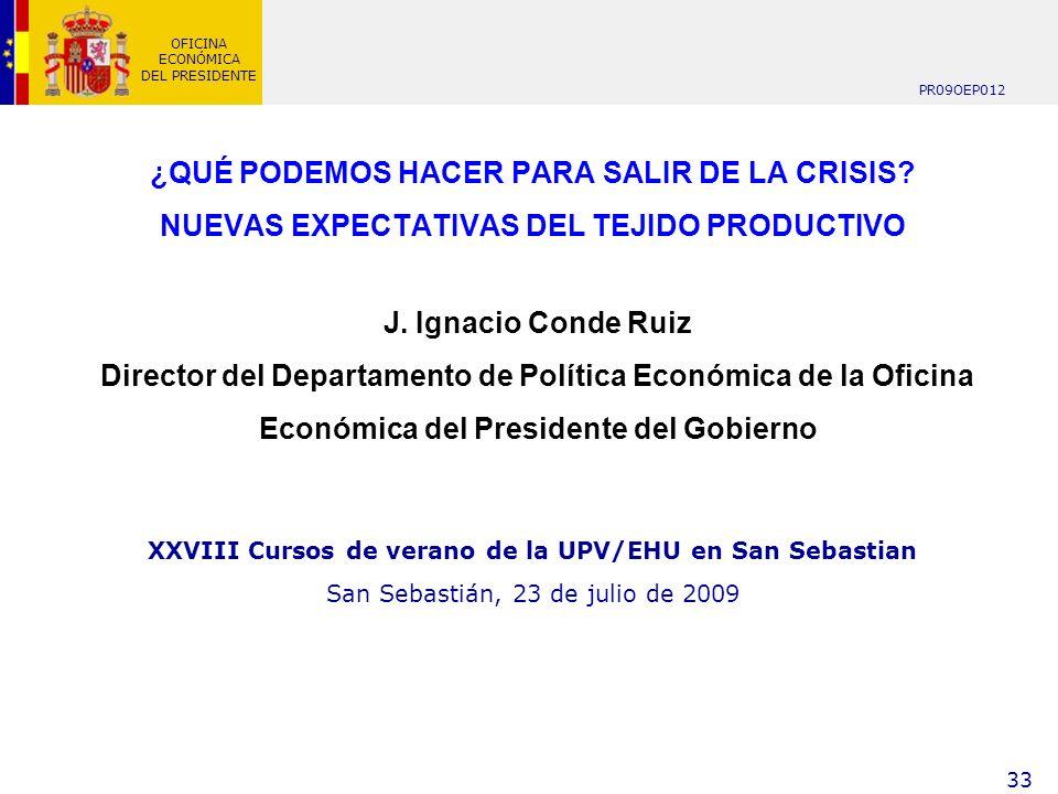 XXVIII Cursos de verano de la UPV/EHU en San Sebastian