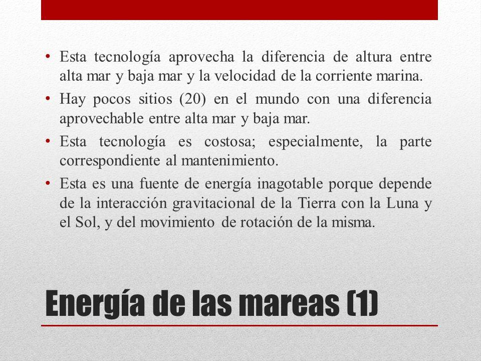 Energía de las mareas (1)